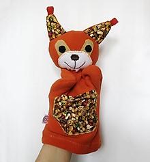 Hračky - Maňuška veverica - Veverička z Orieškového raja - 13294112_