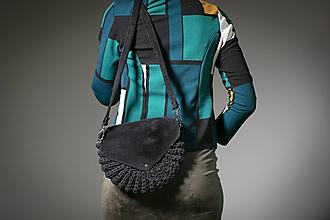 Kabelky - Čierna kabelka Viera - 13295501_