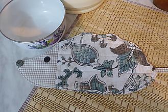 Úžitkový textil - Kuchynská podložka-ježko - 13297147_