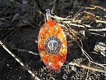 """Náhrdelníky - Org. šperk ,, Sluneční vitality """" - 13293953_"""