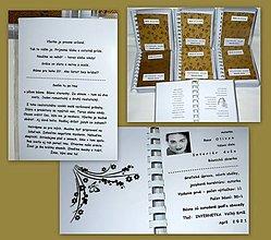 Papiernictvo - Básnická zbierka INTERIÉR DUŠE - 13295843_