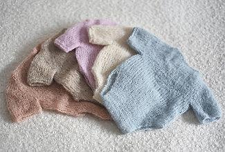 Detské oblečenie - Newborn body s krátkymi rukávmi na fotenie novorodeniatok - 13294864_