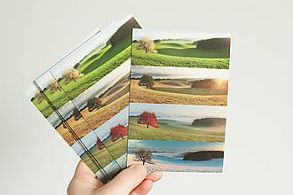 """Papier - Pohľadnica """"Rok s višňou, Turiec"""" - 13298954_"""