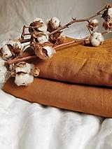 Úžitkový textil - Ľanové obliečky - výber zo 40 farieb - 13294902_