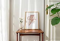 Grafika - print / kolekcia SEBALÁSKA / GRL PWR (ISKRA) - 13294794_