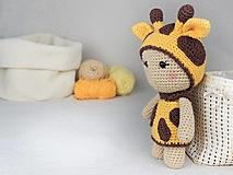 Návody a literatúra - Žirafka Moly z kolekce LittleFriends - 13303155_