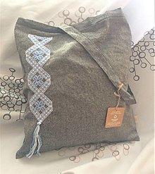 Nákupné tašky - Bielo - belasá - 13300644_