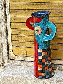 Dekorácie - Váza Barcelona - 13303099_