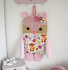 Textil - Liška...pyžamožrút - 13301181_
