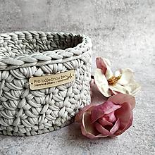 Košíky - White Coffee | košík pro báječnou ženu - 13302644_