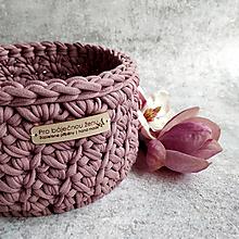 Košíky - Magnolia | košík pro báječnou ženu - 13302676_