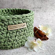 Košíky - Fresh Olive | košík pro báječnou ženu - 13302685_
