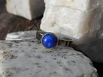Prstene - ring with lapis lazuli-prsteň-chir.o. - 13303193_