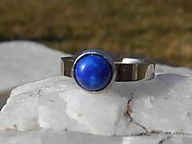 Prstene - ring with lapis lazuli-prsteň-chir.o. - 13303201_
