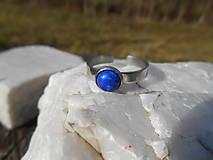 Prstene - ring with lapis lazuli-prsteň-chir.o. - 13303203_