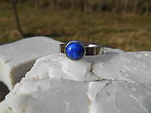 Prstene - ring with lapis lazuli-prsteň-chir.o. - 13303207_