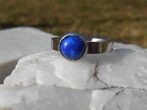 ring with lapis lazuli-prsteň-chir.o.