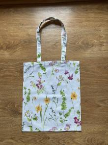 Nákupné tašky - Taška cez plece jarná rozkvitnutá lúka - 13302303_