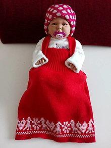 Detské oblečenie - Detská pletená sukňa - 13301076_