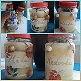 Nádoby - Malé bylinkové dózy (Pestrofarebná) - 13303255_