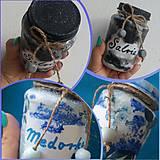 Nádoby - Malé bylinkové dózy (Pestrofarebná) - 13303256_