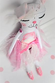 Hračky - -Zajačica Sofi/hračka/veľká- (Tutu sukňa s čelenkou) - 13299785_