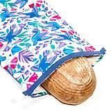 Nákupné tašky - Vrecko na chleba s membránou - Vtáčiky - 13300215_