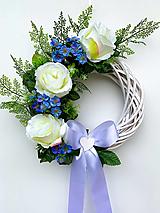 Dekorácie - Svadobný veniec pre ženícha - 13301314_