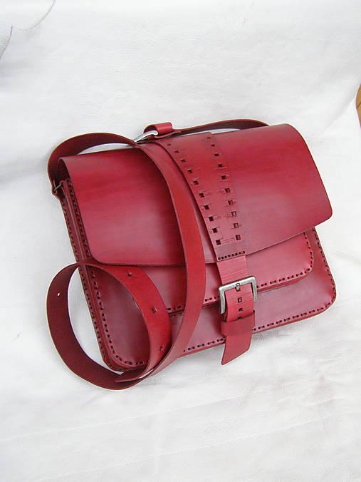 Veľké tašky - taška velká červená - 13300917_