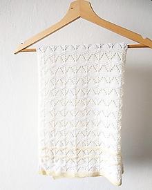 Textil - Pletená deka VERONIKA - 100% merino - 13299881_