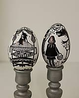 Dekorácie - Husacie vajíčko -nakreslím ti rozprávku - 13303222_