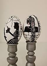 Dekorácie - Husacie vajíčko -nakreslím ti rozprávku - 13303223_
