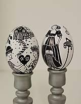 Dekorácie - Husacie vajíčko -nakreslím ti rozprávku - 13303224_