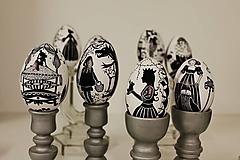 Dekorácie - Husacie vajíčko -nakreslím ti rozprávku - 13303226_