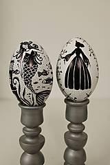 Dekorácie - Husacie vajíčko -nakreslím ti rozprávku - 13303228_