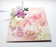 Papiernictvo - Pohľadnica ... kúsok kvetu III - 13306118_
