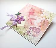 Papiernictvo - Pohľadnica ... kúsok kvetu III - 13306119_