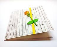Papiernictvo - Pohľadnica ... ružička moja - 13306157_
