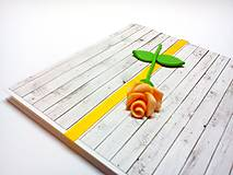 Papiernictvo - Pohľadnica ... ružička moja - 13306161_