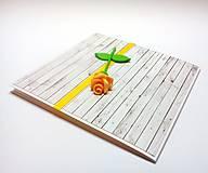 Papiernictvo - Pohľadnica ... ružička moja - 13306162_