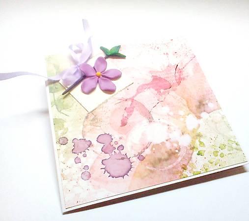 Pohľadnica ... kúsok kvetu III