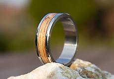 Prstene - Prsteň  Dub - 13305797_