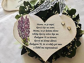 Tabuľky - Srdce mame - 13304293_