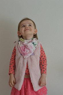 Detské doplnky - Detská šatka na hlavu i na krk - 13303403_