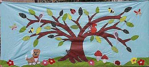 Úžitkový textil - Zástena na posteľ - 13304872_