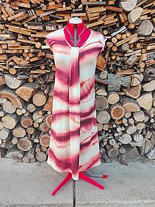 Šaty - Letné šaty s batikovým vzorom - 13305304_