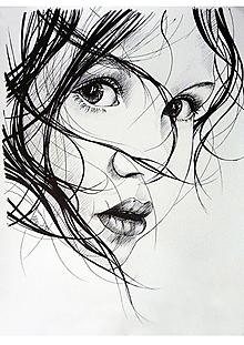 Obrazy - Kresba portrétu - na objednávku - 13304375_