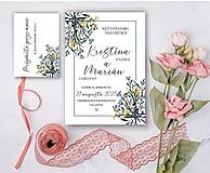 Papiernictvo - Svadobné oznámenie 94 lúky - 13309659_