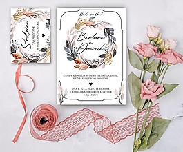 Papiernictvo - Svadobné oznámenie 88 - 13307083_