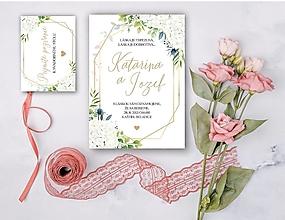 Papiernictvo - Svadobné oznámenie 91 - 13307104_